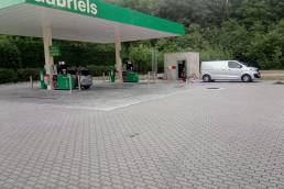 Aanleg nieuw tankstation