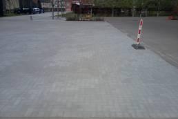 Aanleg parking en toegangsweg